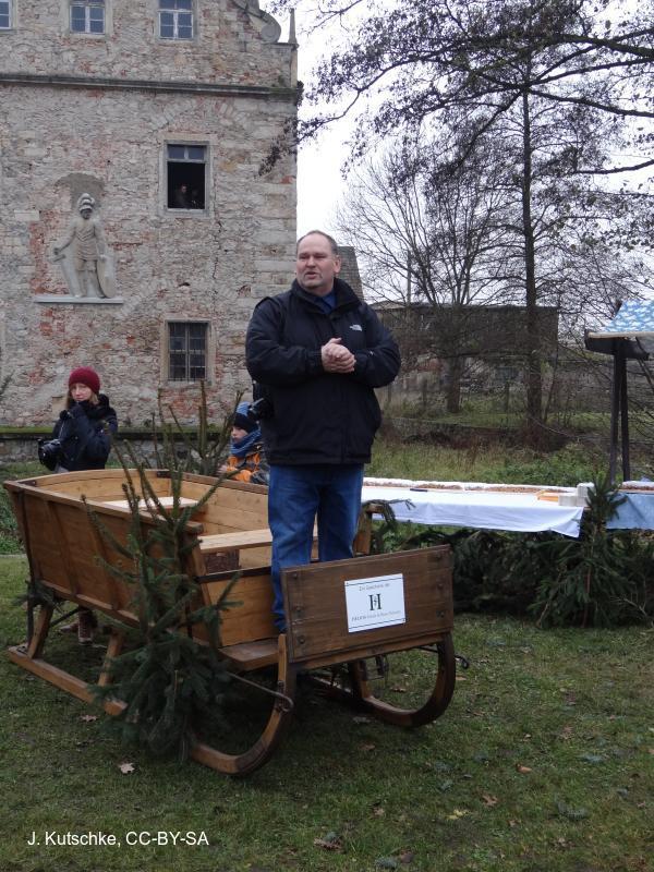 Eröffnung durch Bürgermeister Steffen Sang