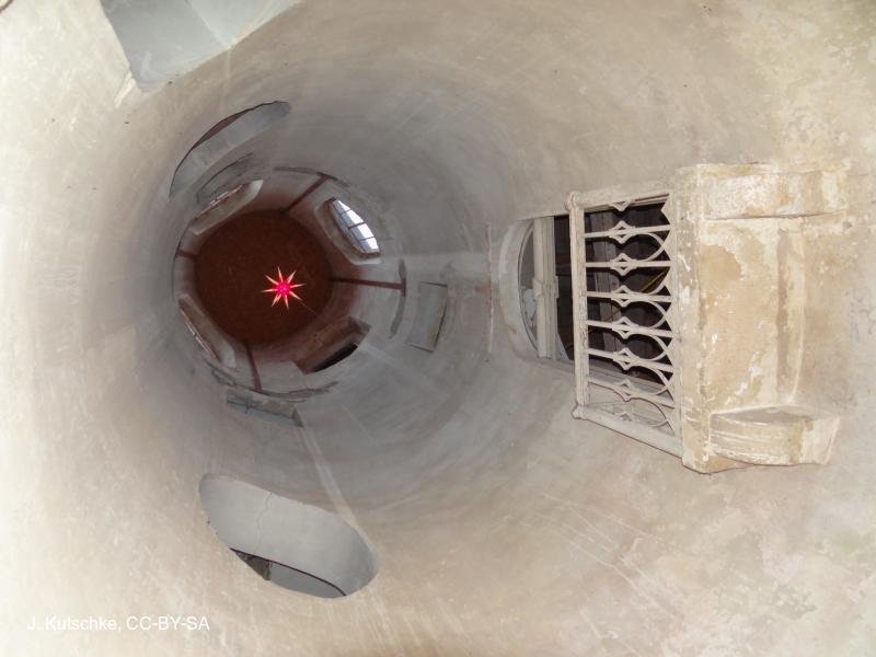 im Turm des Schlosses