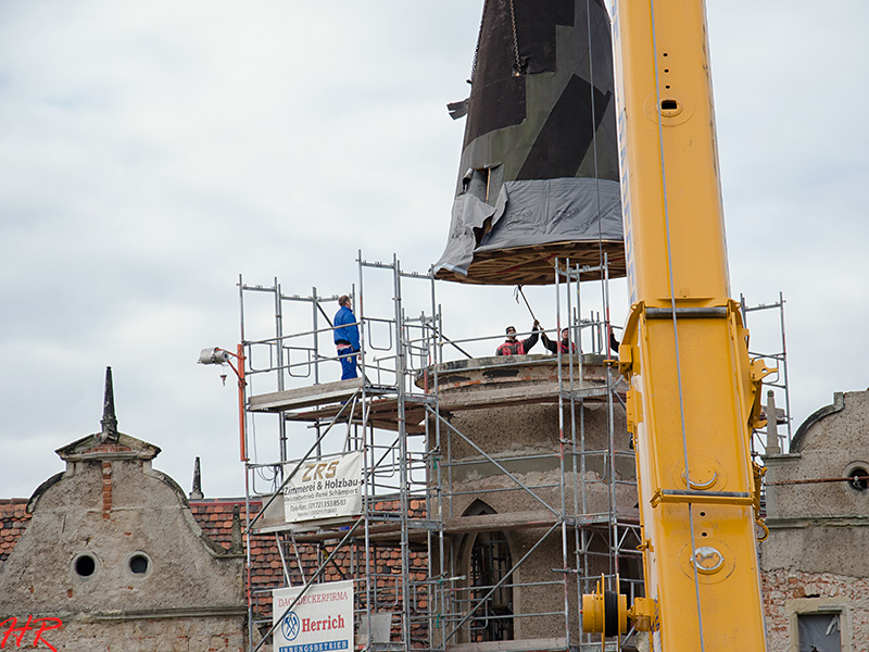 Restaurierung der Turmspitze 2013-2014